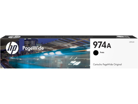 HP 974A Black Ink Cartridge L0R96AL