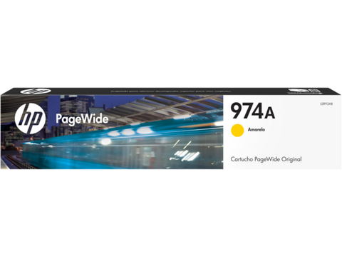 HP 974A Yellow Ink Cartridge L0R93AL