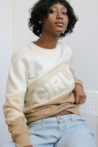 Copy of GIRLS Color Block Sweatshirt