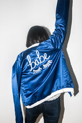 Custom babe bomber jacket!