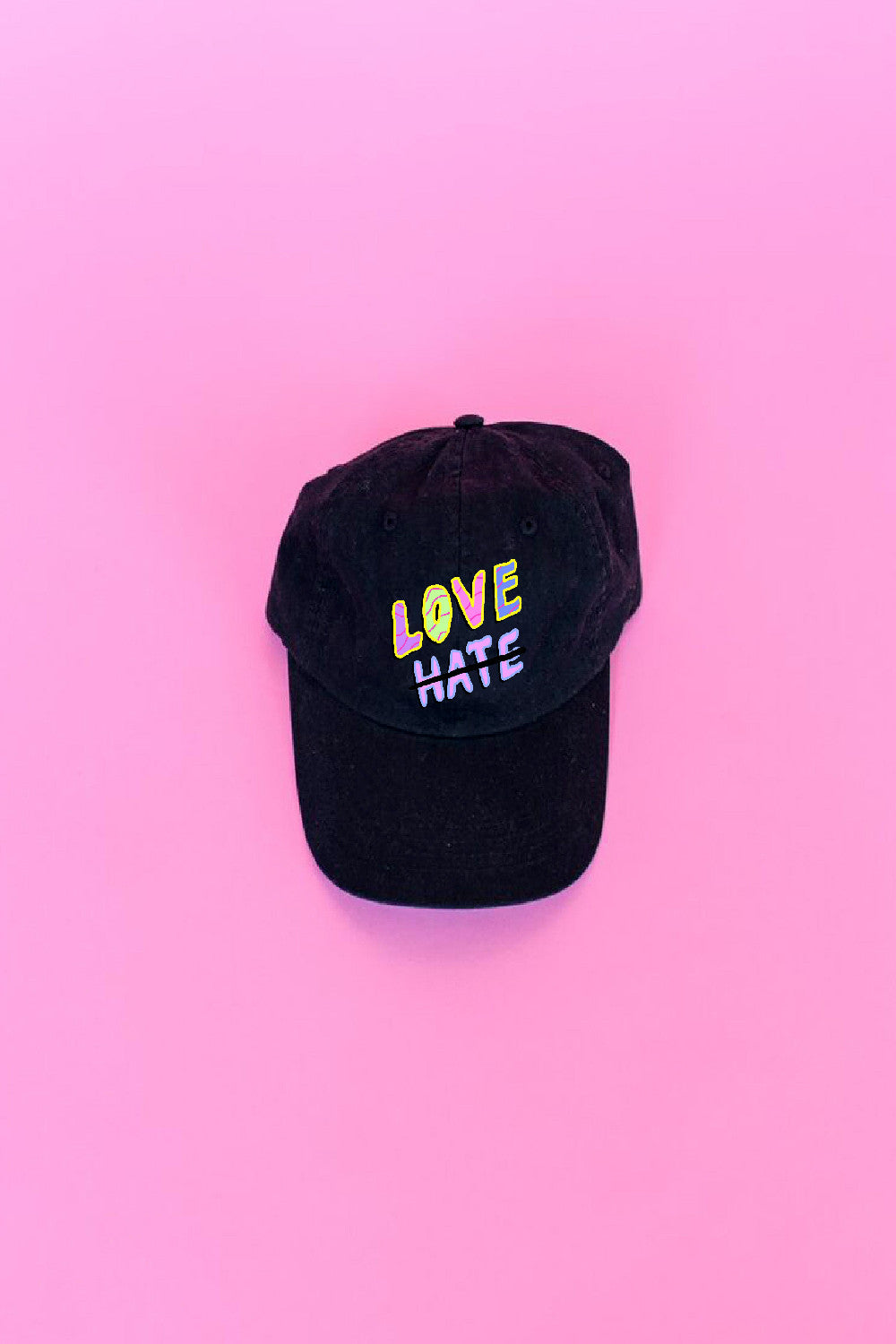 Love Not Hate Baseball Cap