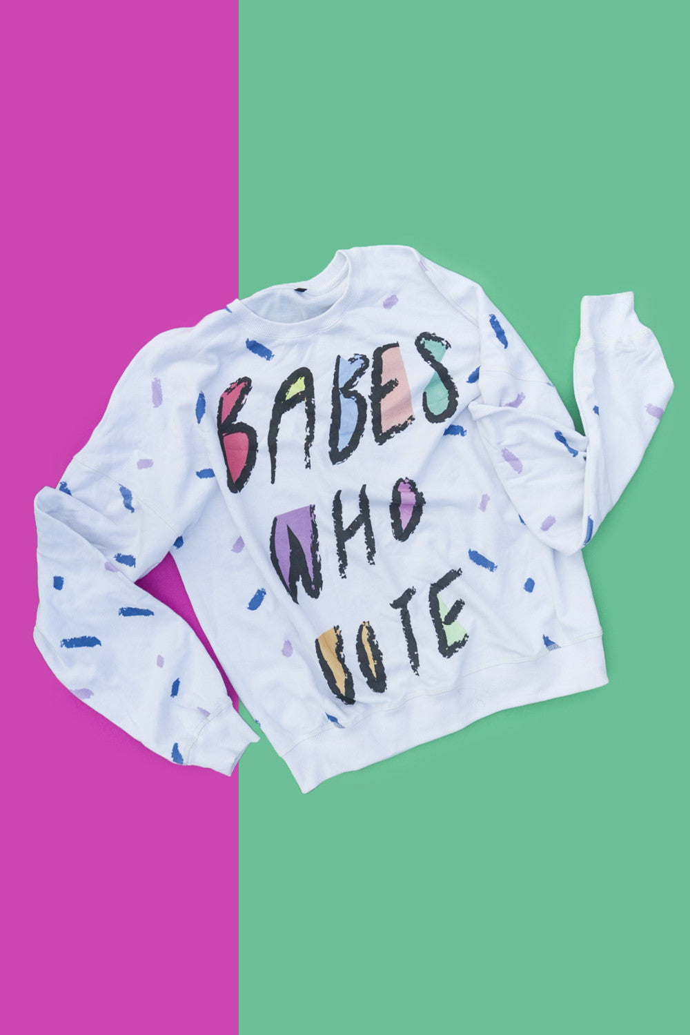 Babes Who Vote Party Sweatshirt