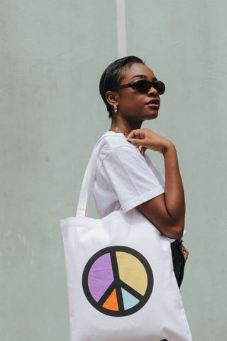 The Style Club Peace Tote