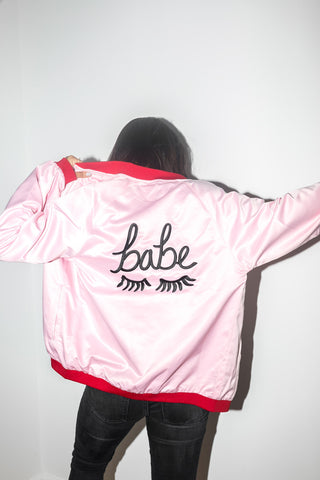 The Babe Jacket in Pink
