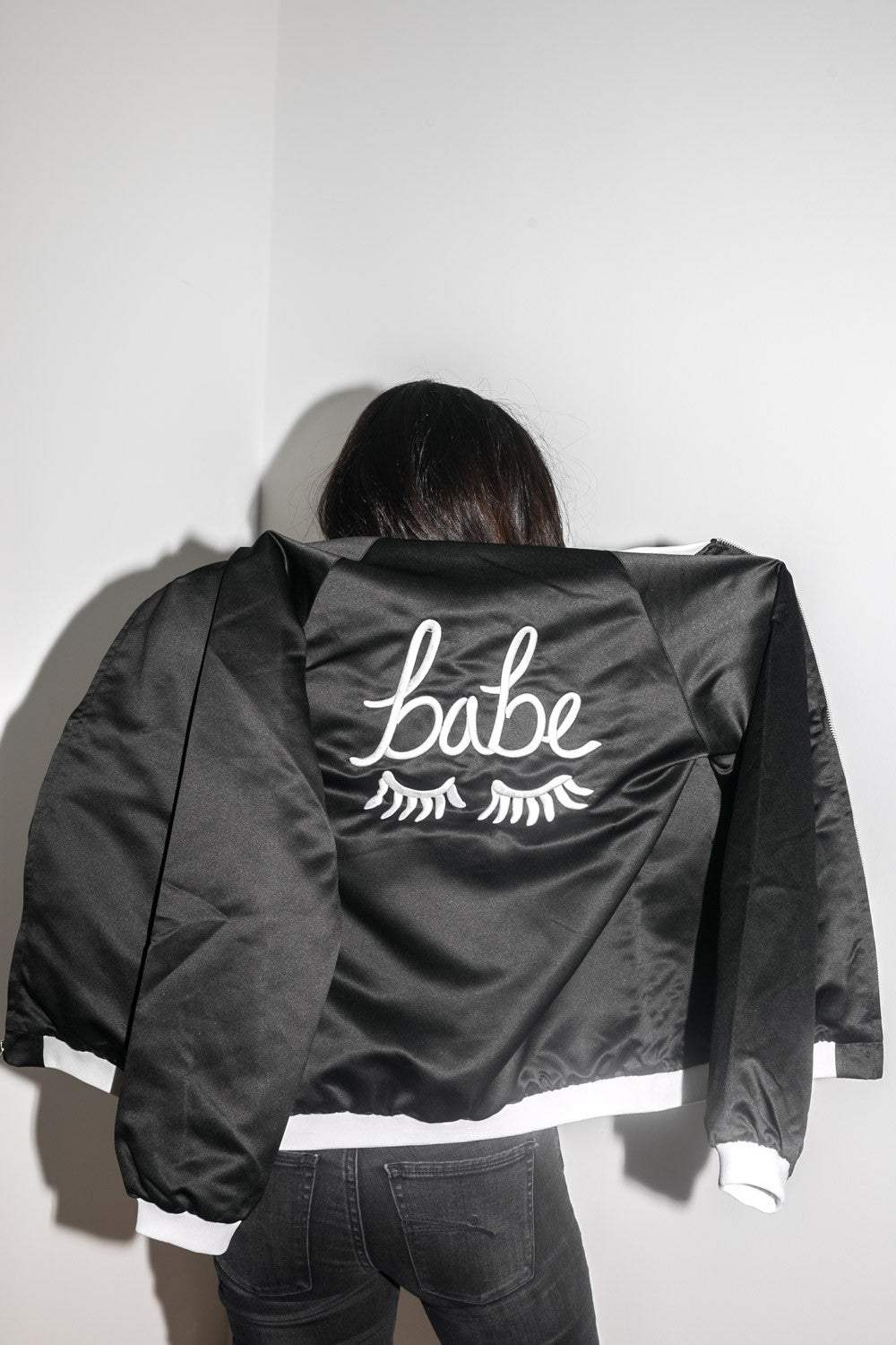 The Babe Jacket in Black