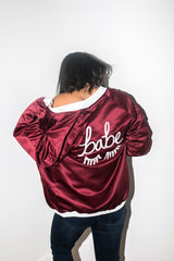 The Babe Jacket in Red
