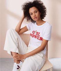 Girl Power With Rose T-shirt