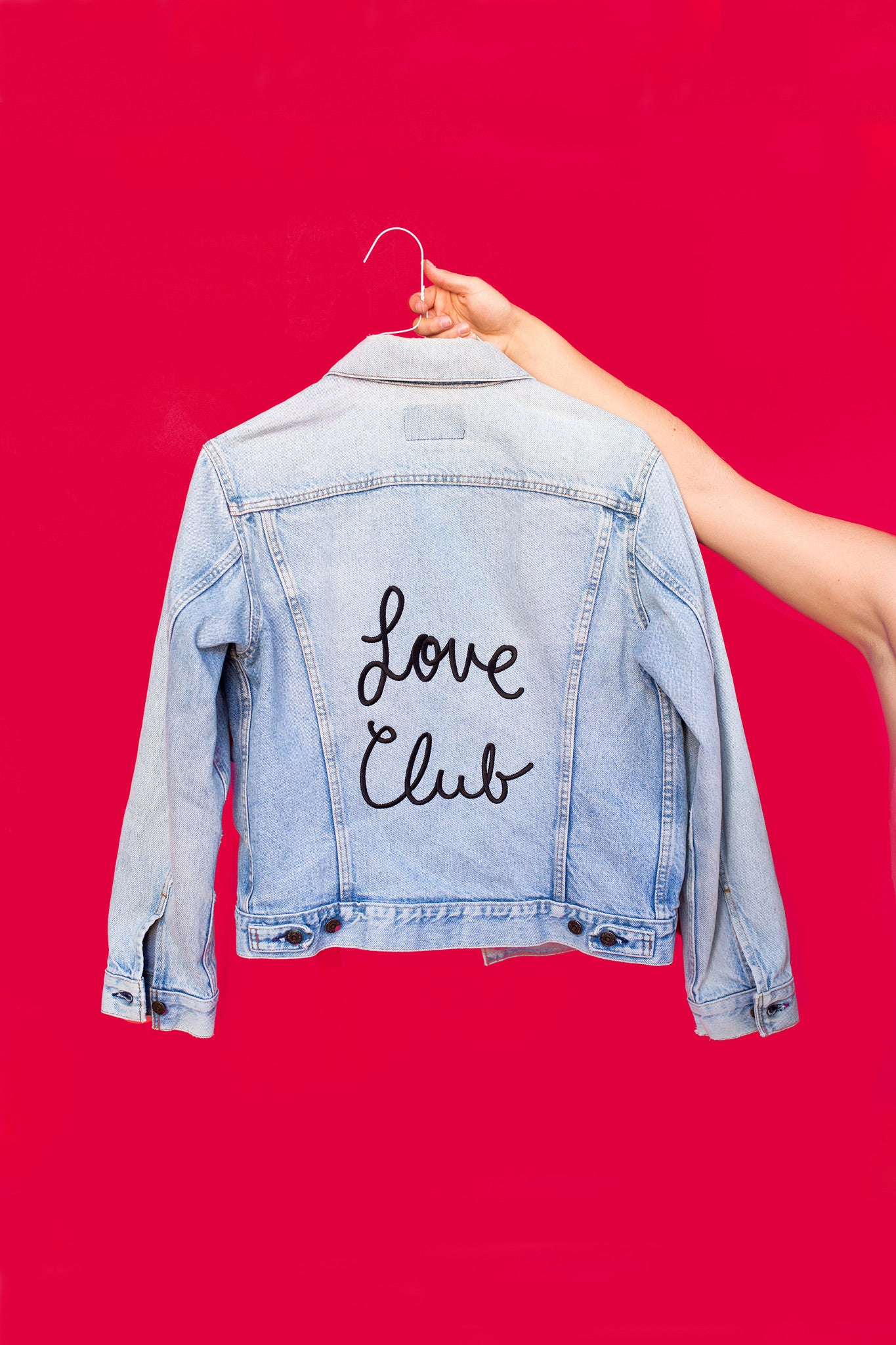 Love Club Vintage Denim Jacket