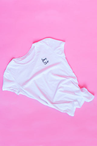 Cross your heart Bando Top
