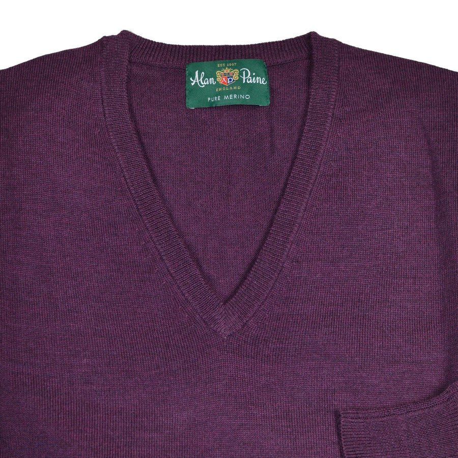 BlackGrape Merino V-neck