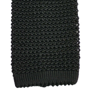 Black Silk Knit