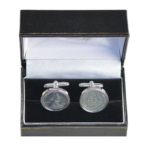 Steel War Penny Cufflinks