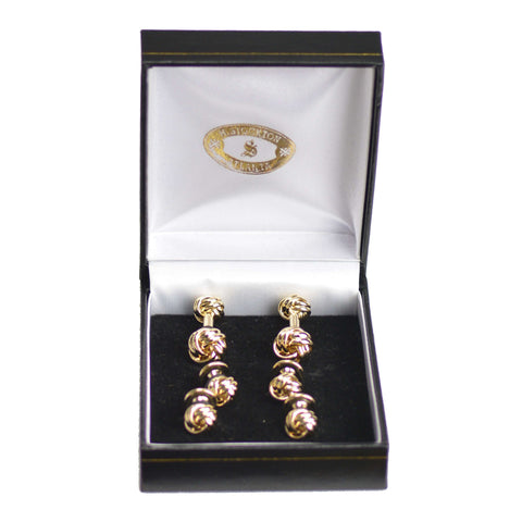 Gold Knot Formal Set