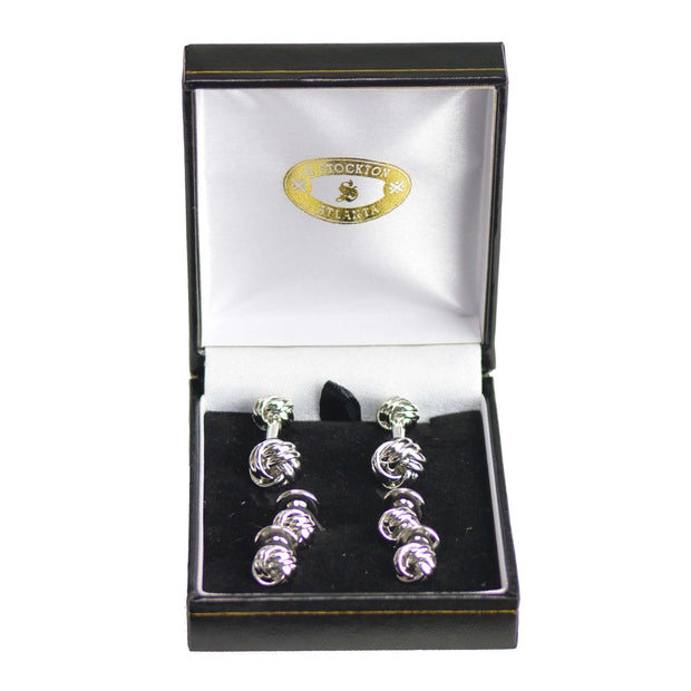 Silver Knot Formal Set