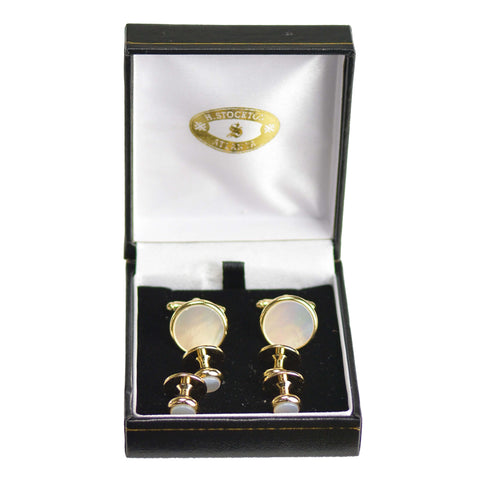 Mother Of Pearl with Gold Formal Set