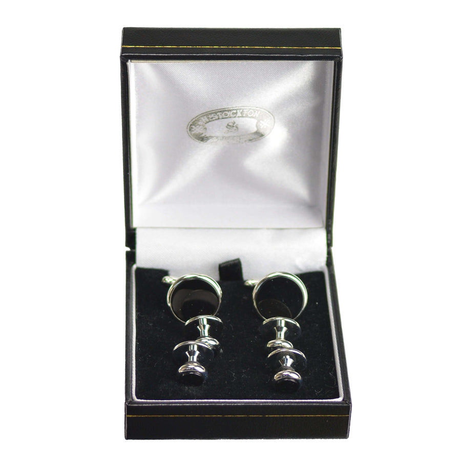 Onyx with Silver Formal Set