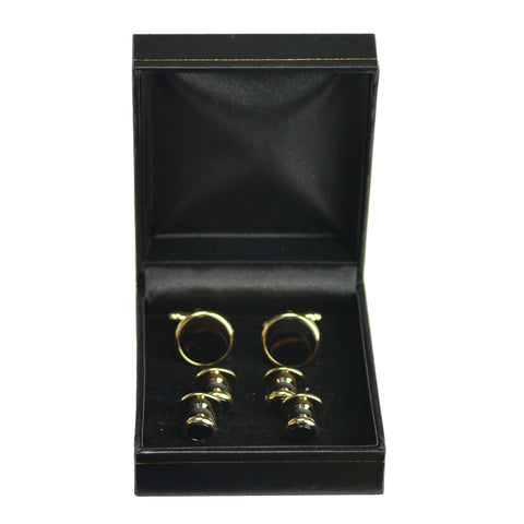 Onyx with Gold Formal Set