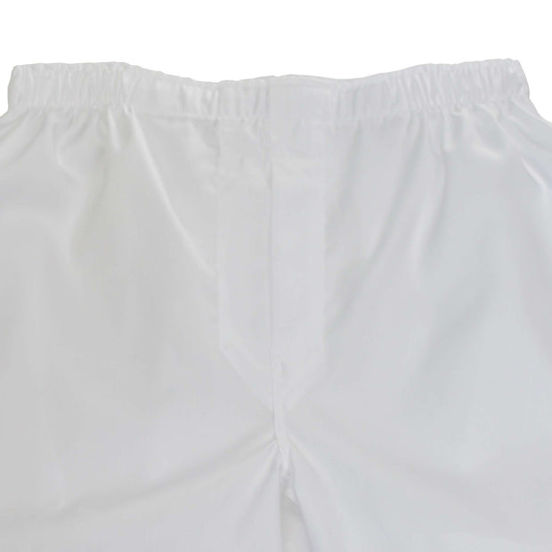 White Pinpoint Oxford Boxer Short