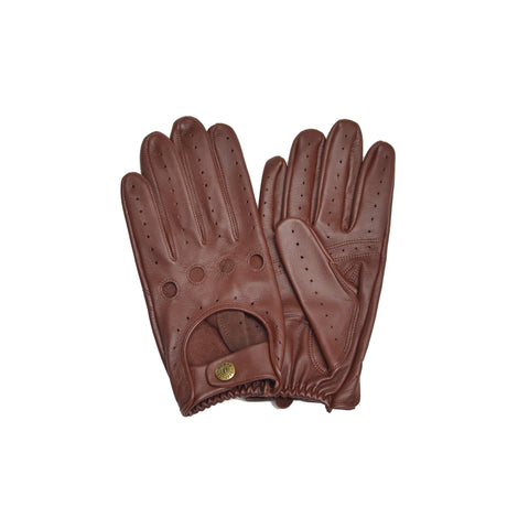 Brown Oxblood Driving Glove