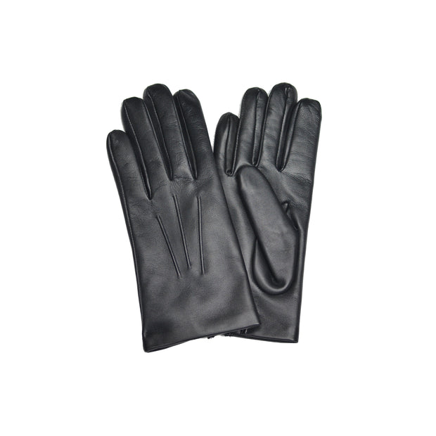 Black Cashmere Lined Gloves