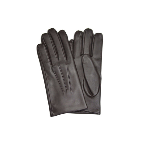 Brown Chocolate Cashmere Lined Glove