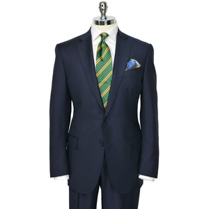Navy Ice Wool Suit
