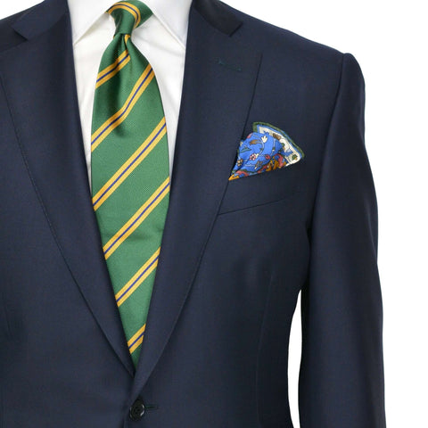 Navy Super 150's Wool Suit
