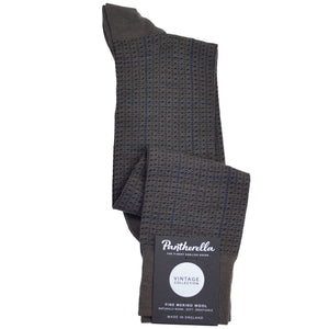 Taupe Windowpane Wool OTC