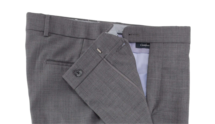 Mid Grey Sharkskin wool Dunhill