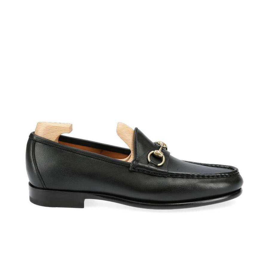 Black Horsebit Loafer