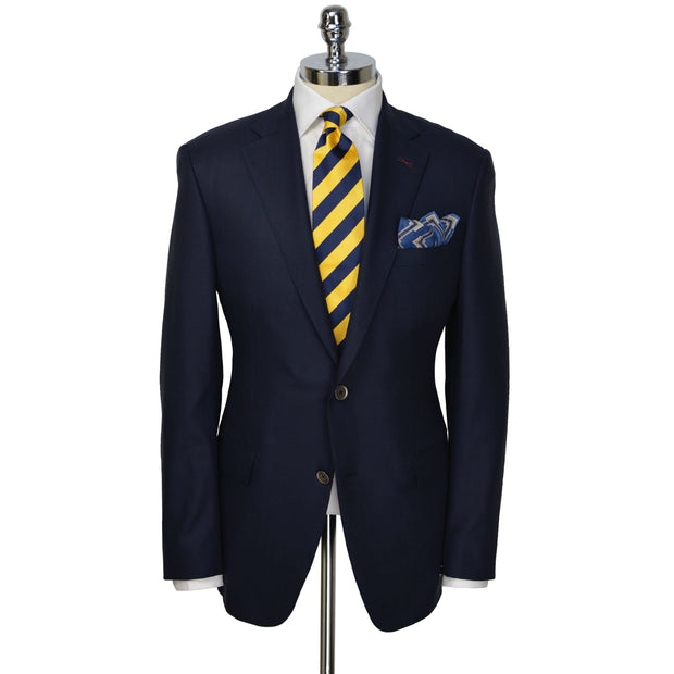 Navy Super 130's Columbo Wool Blazer