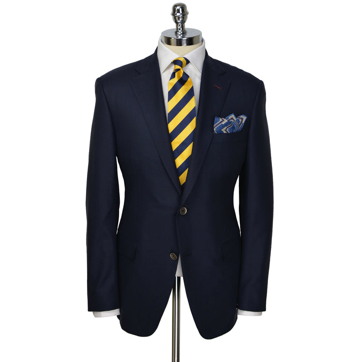 Navy I-Columbo-ce wool blazer