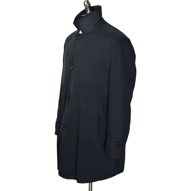 Navy Miron Raincoat