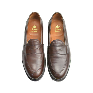 Dark Brown Soft Calf Penny Loafer