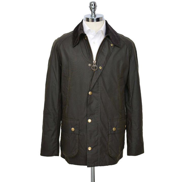 Olive Ashby Waxed Cotton Jacket - BARBOUR - H. Stockton