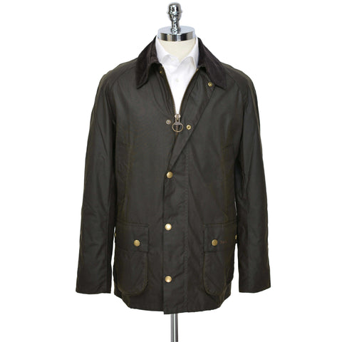 Green Olive Ashby Waxed Cotton Jacket
