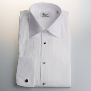 Pleated Front Formal Shirt