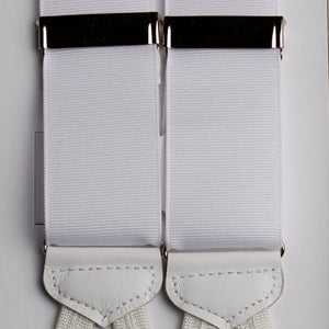 White punjab formal braces E3469
