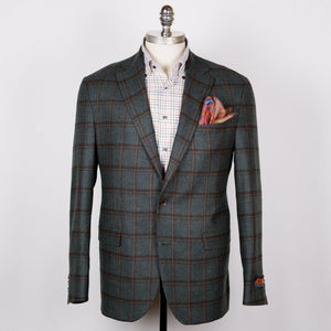 Olive Windowpane Midland