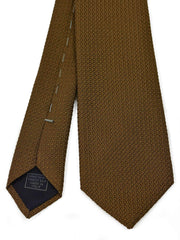 Chocolate Garza Grossa Grenadine Tie