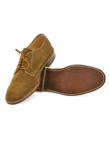 Snuff Suede Plain Toe Blucher