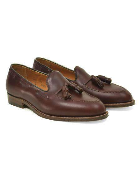 Brown Chromexcel Tassel Loafer - ALDEN - H. Stockton