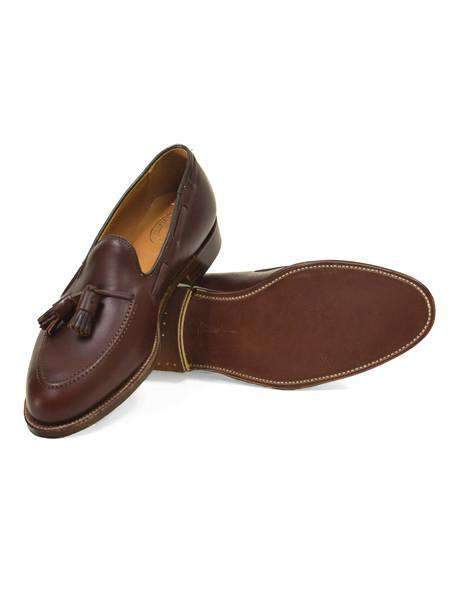 Brown Chromexcel Tassel Loafer