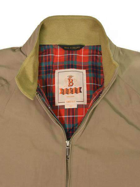 Tan British G9 Classic Harrington Jacket