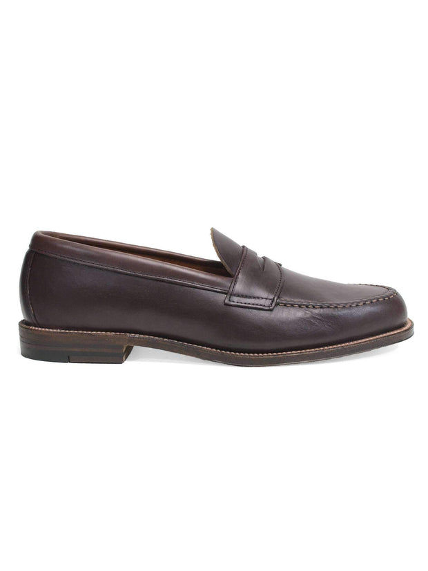 Brown Chromexcel Unlined Penny Loafer