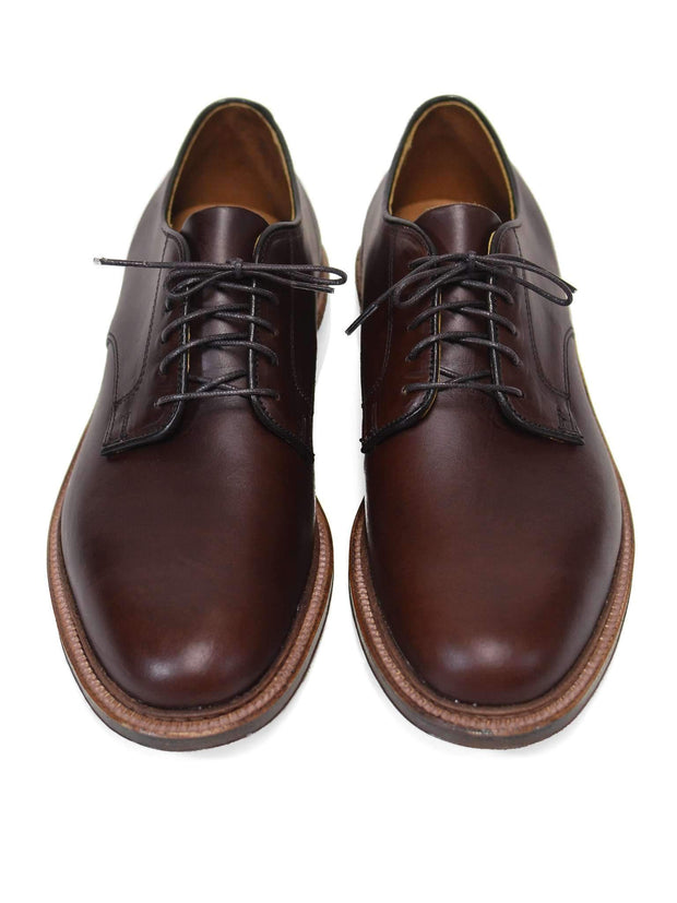 Brown Chromexcel Plain Toe Blucher