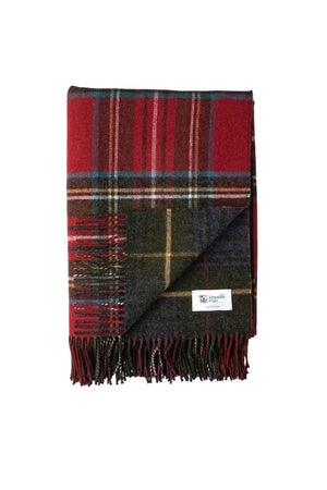 Stewart  lambswool throw