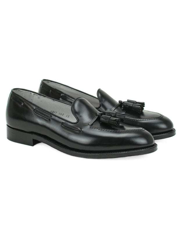 Black Calfskin Tassel Loafer