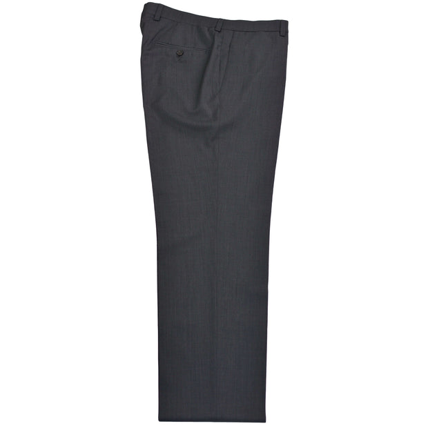 Charcoal Wool Dress Trousers Separates - Contemporary Fit - Matching Suit Coat Available