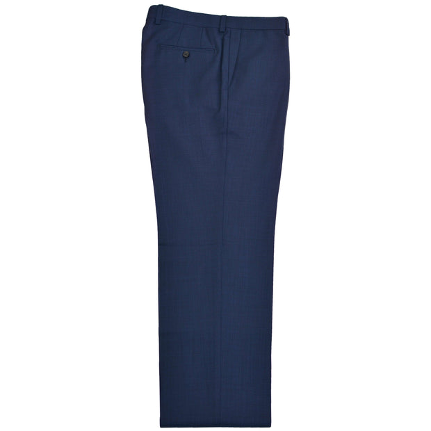 Blue Nailhead Wool Dress Trousers Separates - Contemporary Fit - Matching Suit Coat Available